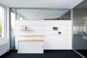 Working wall partition system